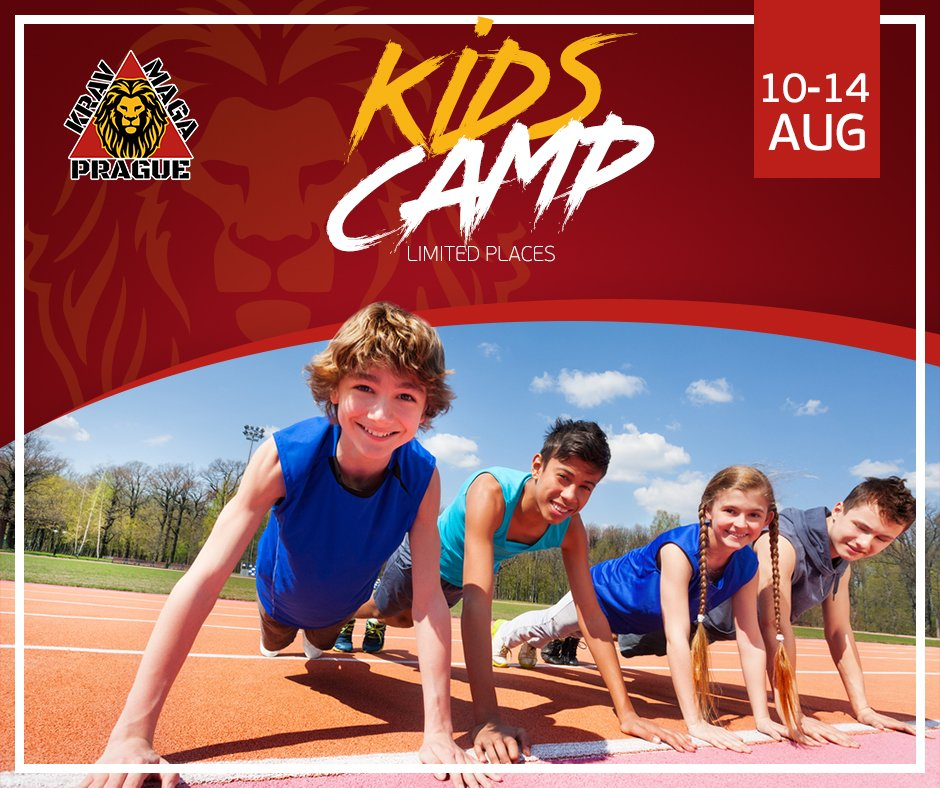 Krav Maga Kids Camp